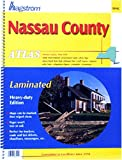 img - for Nassau County Atlas: Laminated (Hagstrom Nassau County Atlas: New York (Spiral/Laminated)) book / textbook / text book