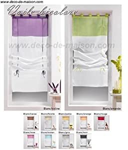 rideau store bateau largeur 60 cm cuisine maison. Black Bedroom Furniture Sets. Home Design Ideas