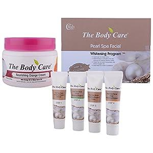 The Body Care Combo Of Pearl Spa Facial Kit + Nourishing Orange Cream