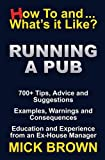 img - for Running a Pub (How to...and What's it Like?) book / textbook / text book