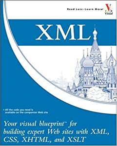 "Cover of ""XML: Your visual blueprint for ..."