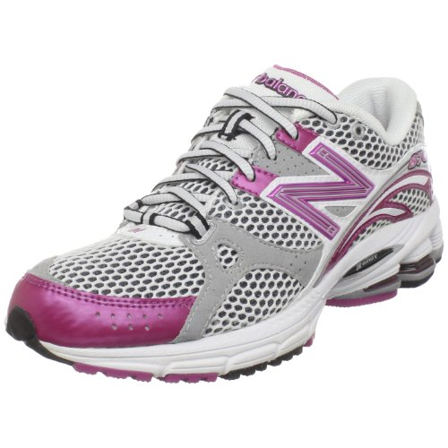 New Balance Women's WR870 Stability Running Shoe,Pink/White,10 B US