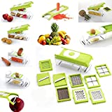 Gmn High Quality Vegetable & Fruits Cutter, Slicer, Dicer Grater & Nicer, Steel Blad (1)