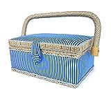 bbloop® Vintage Sewing Basket (sm) with Sewing Notions