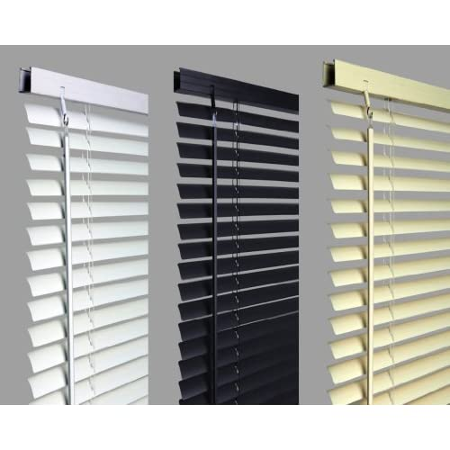 New 120cm WHITE Pvc Venetian Blinds, AVAILABLE IN 10 SIZES AND 3 COLOURS .Buy As Many As Like For A Max Of £4.99...