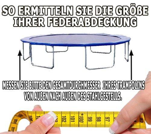 Trampolin Master Feder- und Randabdeckung für Trampoline aus PVC, 300 bis 305cm -