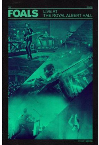 Blu-ray : Foals - Live at the Royal Albert Hall (Blu-ray)