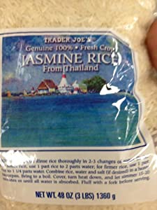 Trader Joe's Jasmine Rice from Thailand 48oz (3lbs)