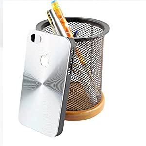 ShopizoneTM New [3D] Motomo [Aluminum] Back Case Cover for Iphone 4-Silver
