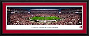 Alabama Crimson Tide - Bryant-Denny Stadium - Framed Panoramic Photo by Laminated Visuals