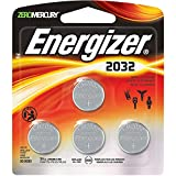 Energizer 2032BP-4 3 Volt Lithium Coin Battery