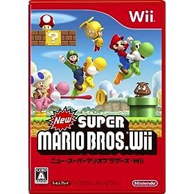 New �X�[�p�[�}���I�u���U�[�Y Wii (�ʏ��)