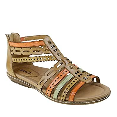 Amazon Com Earth Women S Bay Gladiator Sandal Shoes