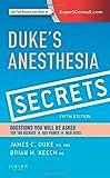 img - for Duke's Anesthesia Secrets, 5e book / textbook / text book