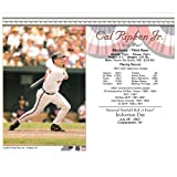 UNSIGNED Cal Ripken Jr Induction Card- Batting