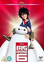 Big Hero 6 (2014) (Limited Edition Artwork Sleeve) [DVD]