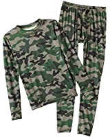 ClimateSmart Boys Long Sleeve Crew Neck and Pant - 2 PC Set