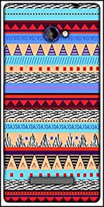Snoogg Loud Aztec Designer Protective Back Case Cover For HTC Windows Phone 8S