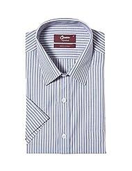 Oxemberg Men Comfort Fit Cotton Formal Shirt - B00WHW88UI