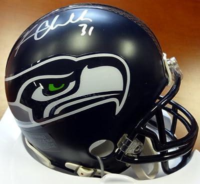 Kam Chancellor Autographed Seattle Seahawks Mini Helmet Mcs Holo Stock #71568