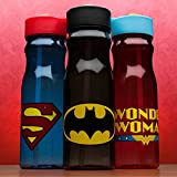 Zak! Designs Tritan Water Bottle with Straw and Batman Graphics, 25-Ounce