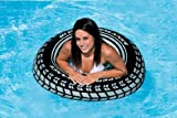 INTEX Giant 36 Tire Inflatable Floating Swimming Tube Raft - (Set of 2)