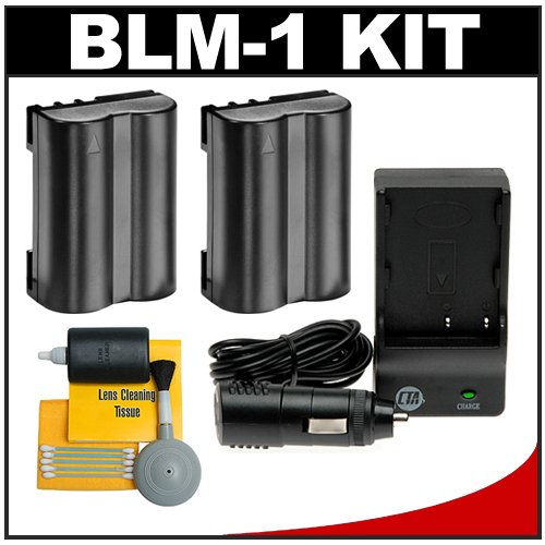 (2) CTA BLM-1 Rechargeable Li-ion Batteries + Mini Battery Charger + Cleaning Kit for Olympus E-30, E-3, E-1, EVOLT E-300, E-330, E-500, E-510 & E-520 Digital SLR Cameras(2) CTA BLM-1 Rechargeable Li-ion Batteries + Mini Battery Charger + Cleaning Kit for Olympus E-30, E-3, E-1, EVOLT E-300, E-330, E-500, E-510 & E-520 Digital SLR Cameras