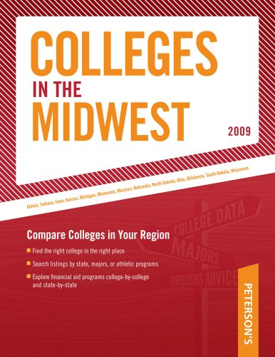 Regional Guide: Midwest 2009 (Peterson's Colleges in the Midwest)