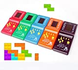 Genérico Juguete Electrónico Tetris Sostuvo Mano LCD Juego De Ladrillos
