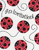 Ladybug Party Supplies Invitations