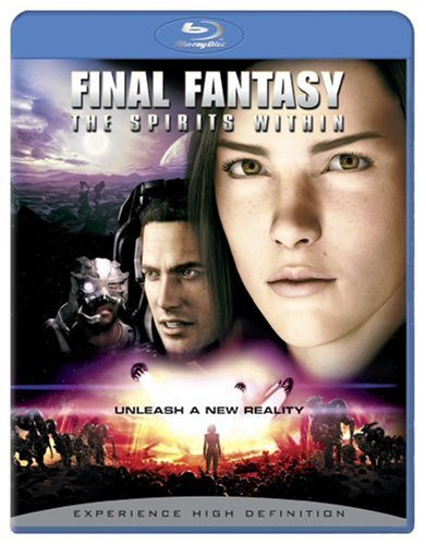 Cover art for  Final Fantasy - The Spirits Within [Blu-ray]