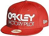 (オークリー)OAKLEY メンズ トレーニングウェア FP NOVELTY SNAP-BACK 911617 465 レッドライン ONE SIZE