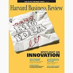 Harvard Business Review, December 2009 Periodical