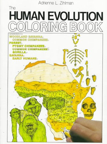 The Human Evolution Coloring Book (College Outline), Zihlman,Adrienne L./ Kapit,Carla/ Milner,Fran/ Clark-Huegel,Cyndi