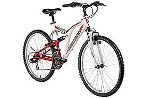 26'' Hillside Mountainbike Cliff 2.1 Fahrrad vollgefedert Fully Bike 21 Gang Shimano Schaltung from Hillside
