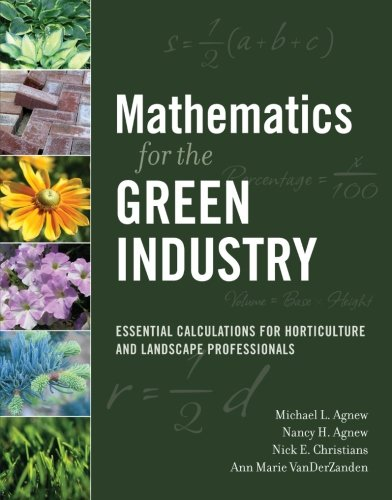 Mathematics for the Green Industry: Essential...