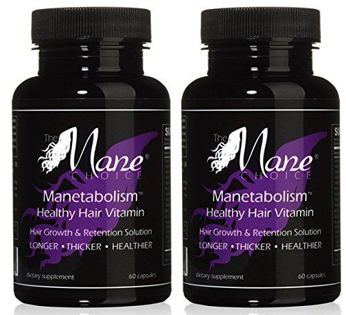 Manetabolism Healthy Hair Vitamins (60 Day Supply)
