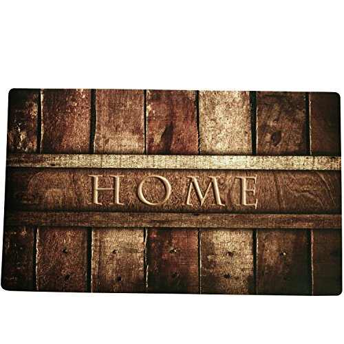 Amagebeli 18 Quot X 30 Quot Home Non Slip Printing Doormat Wood