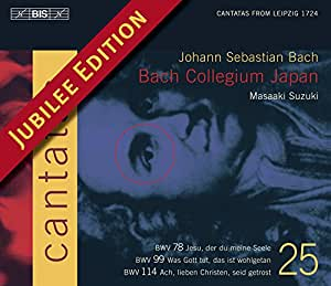 J.S. バッハ:カンタータ全集Vol.25 (J.S.Bach: Cantatas Vol.25) [Import]