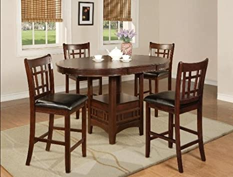 5PC Counter Height Table and Chairs Set
