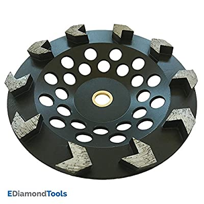 Diamond Grinding Wheel for Paint, Epoxy, Mastic, Coating Removal, Concrete Grinding Versatile Polishing