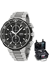 Oris Pro Diver Chronograph Mens Watch Kit 774 7683 7154 MB