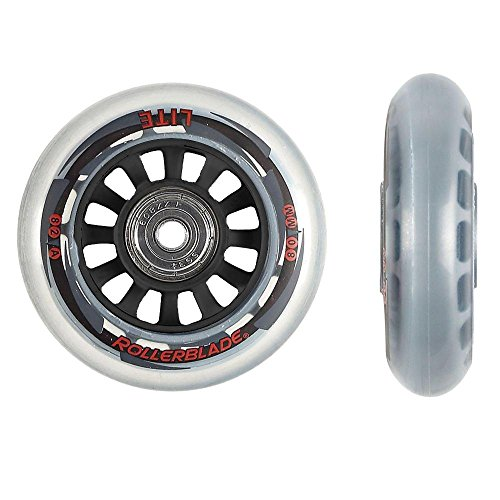 Rollerblade ABEC 7 Skate Bearings Complete Wheel Kit, 80mm/82A, Clear (Rollerblade Wheels 80mm 82a compare prices)