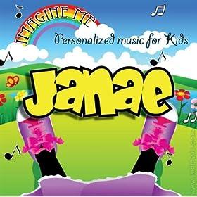 Janae's Personalized Happy Birthday Song (Jana)