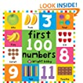 First 100 Numbers (Bright Baby First 100 Board Bk) (First 100 Board Books)