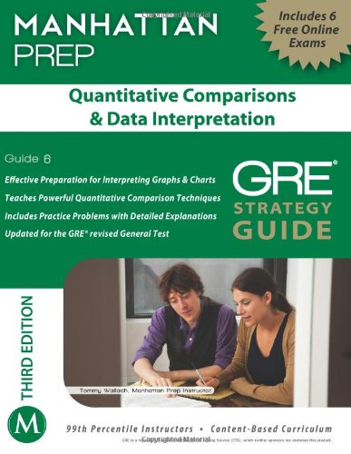 Quantitative Comparisons & Data Interpretation GRE Strategy Guide, 3rd Edition (Manhattan Instructional Guides) (Manhattan Prep GRE Strategy Guides)