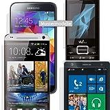 Maoni Lot de 3 films de protection d'écran anti-reflet satiné pour téléphone portable