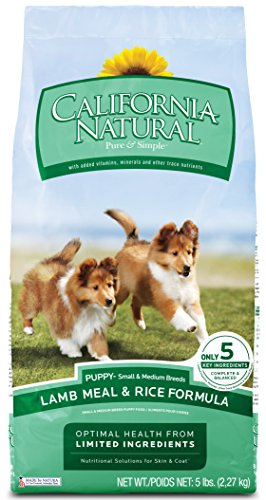 California Natural Lamb Meal & Rice Puppy Food - 26 lb (California Natural Dog Food Puppy compare prices)
