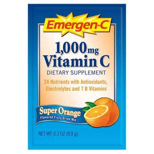 Immune Defense Drink Mix Super Orange 0.3 oz Packet 50/Pack