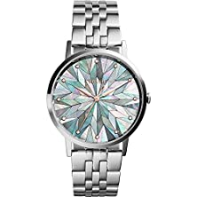 buy Fossil Women'S Es3916 Silver-Tone Stainless Steel Watch